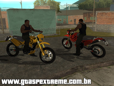 Sundown STX Motard 200cc para GTA San Andreas